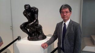 Ο επιμελητής του Εθνικού Μουσείου Δυτικής Τέχνης του Τόκιο Takashi Iizuka.