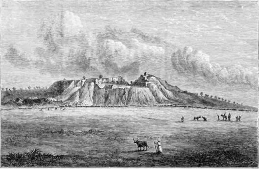 Άποψη του λόφου Hissarlik στην Τρωάδα.